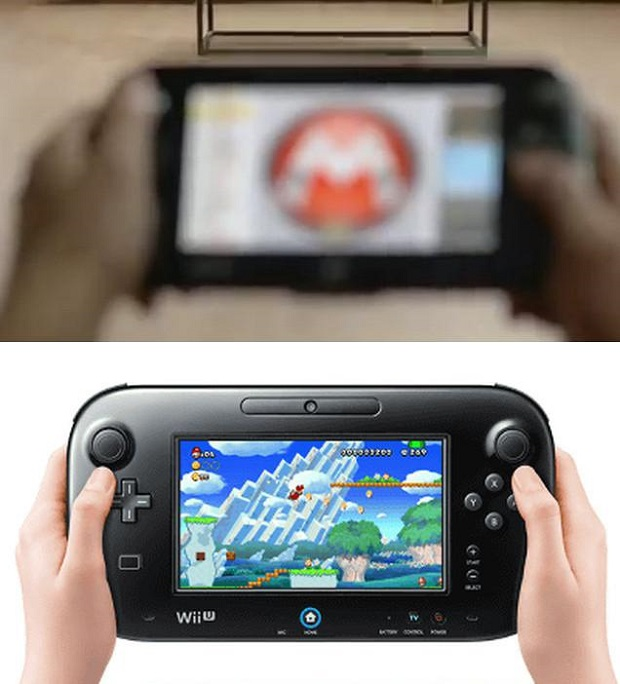 Wii U's GamePad Could Be Getting a Redesign