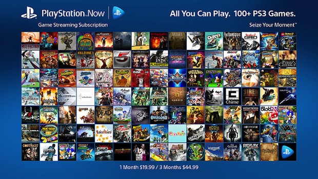 PlayStation Now Gets Subscription Program