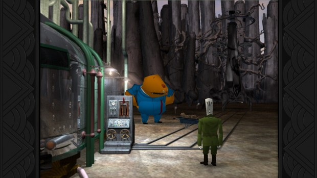 Glottis is one of the most memorable characters of all time.