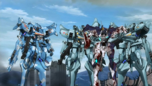 This game starts out as a typical high-school love triangle comedy. Muv-Luv: One helluva ride.