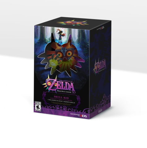 Nintendo Reveals Majora's Mask 3D Collector's Edition