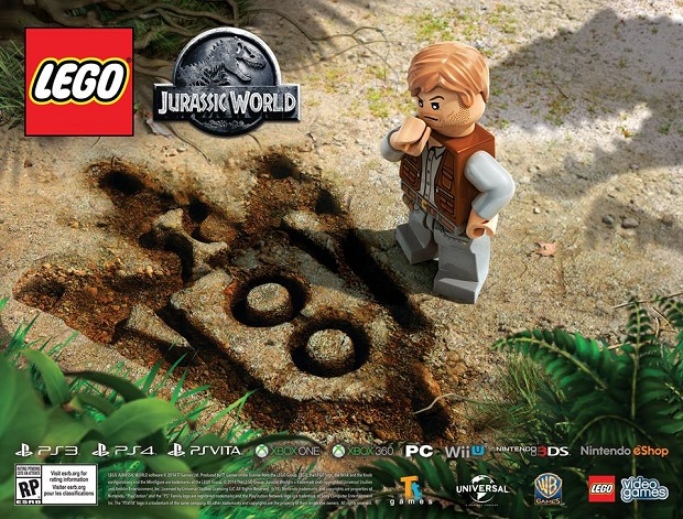 New Lego Jurassic World Teaser Shows a Lego Chris Pratt