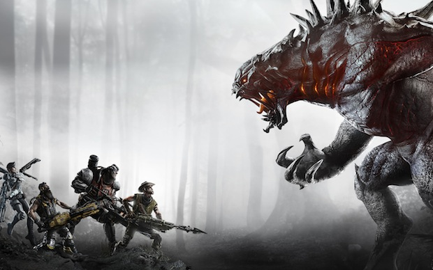 Evolve Gets a Live-Action Trailer
