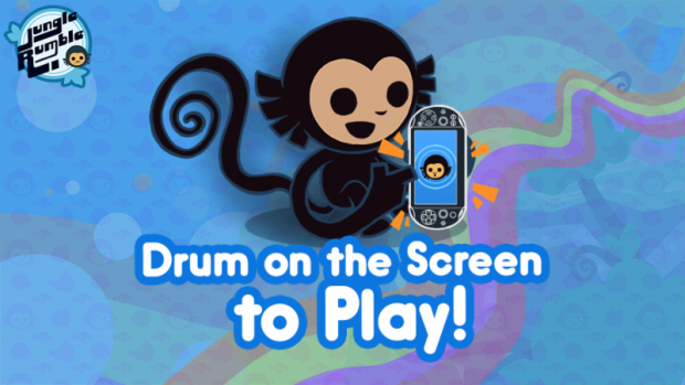 The game can be played solely with the touchscreen, which feels wonderfully percussive.