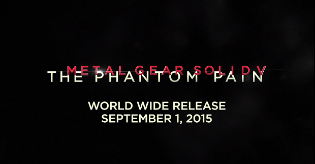 Metal Gear Solid V's Release Date Leaked, Coming in September