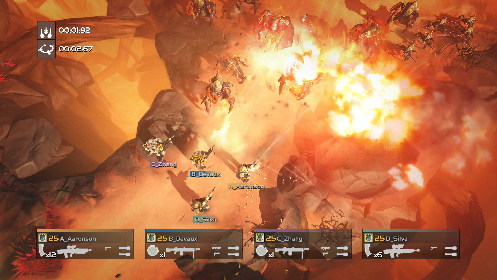2 PS4 HELLDIVERS Bug Attack