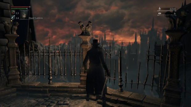 Yharnam is a beautiful world in the midst of chaos and despair. A fitting locale for Bloodborne.