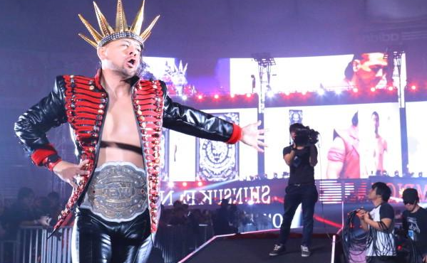 Shinsuke Nakamura's Wrestle Kingdom 8 entrance