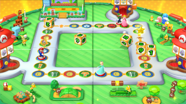 amiibo Party offers a simplified version of your standard Mario party fare.