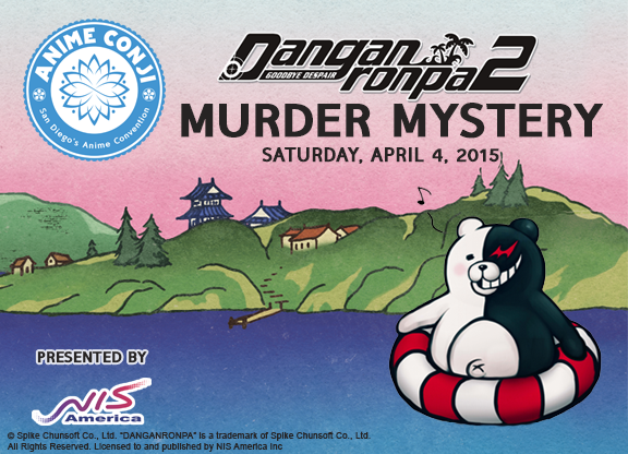 NIS America to Host Danganronpa Murder Mystery Event at Anime Conji 2015