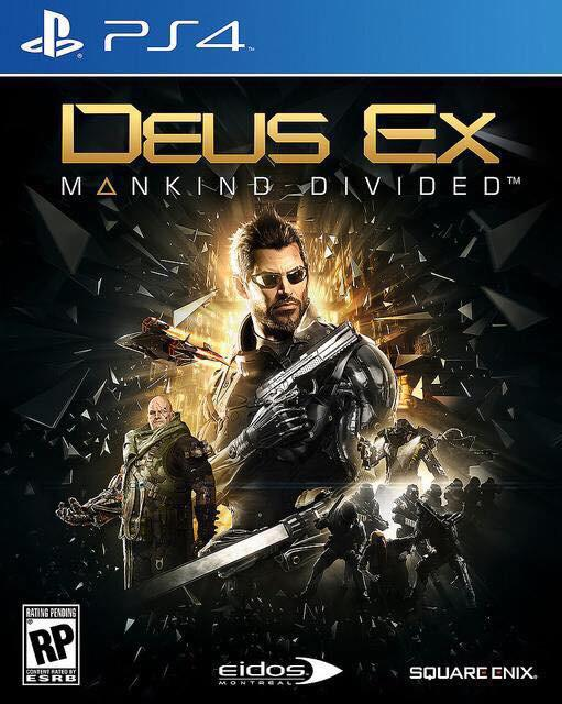 Deus Ex: Mankind Divided's box art revealed