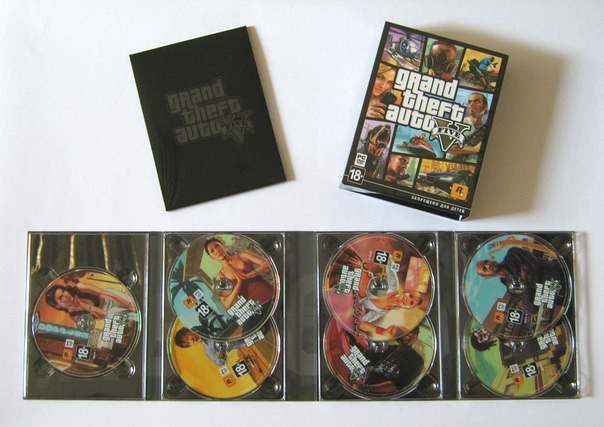 Grand Theft Auto V takes up seven discs on PC