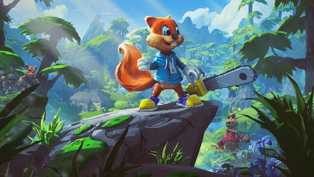Check out what's in store for Conker's return in Project Spark