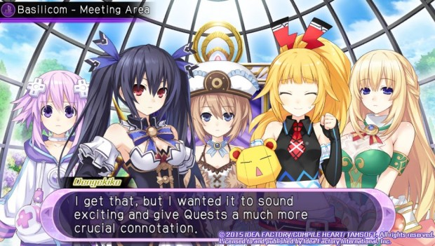Short visual-novel-style skits still keep the story moving, though there's also a few cutscenes and animated videos.