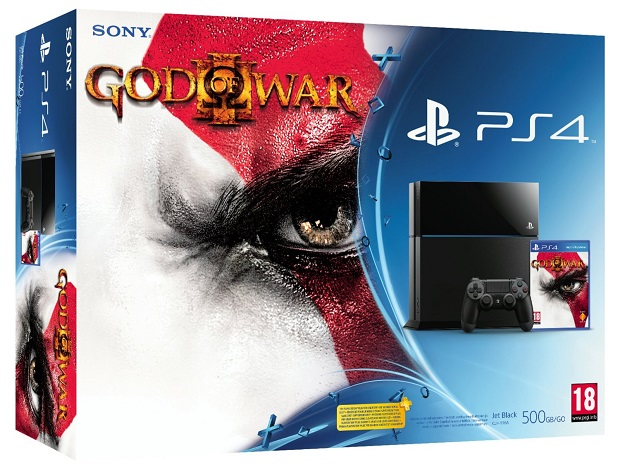 God of War III PS4 bundle listed by Amazon France