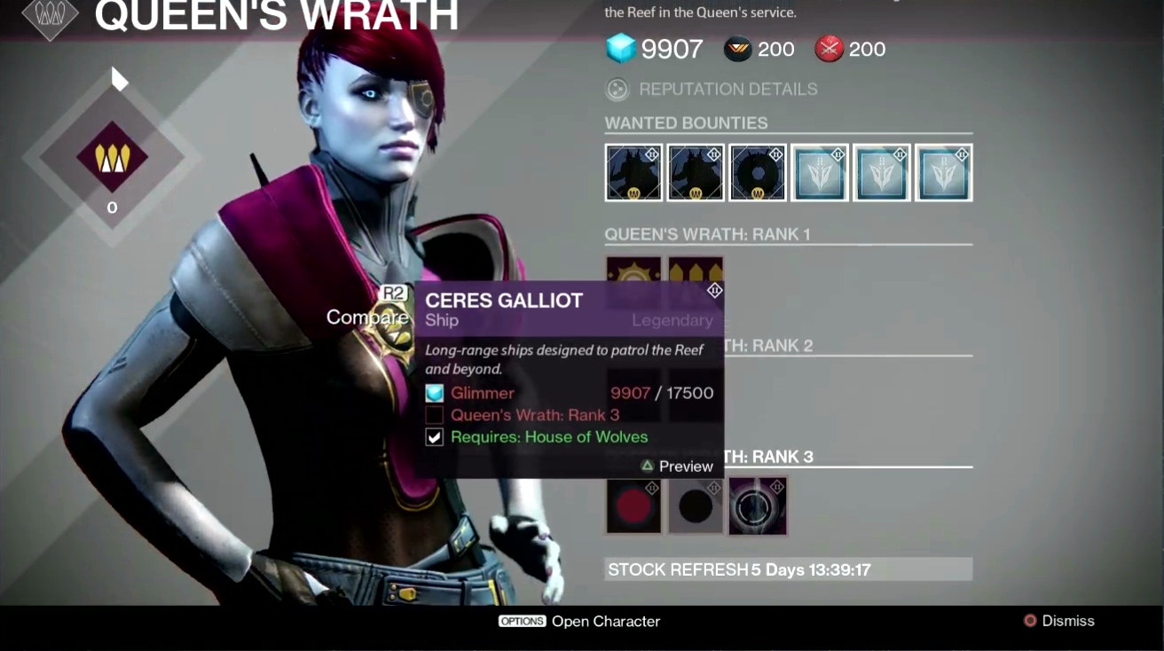 First details on Destiny: House of Wolves' new Reef social ...