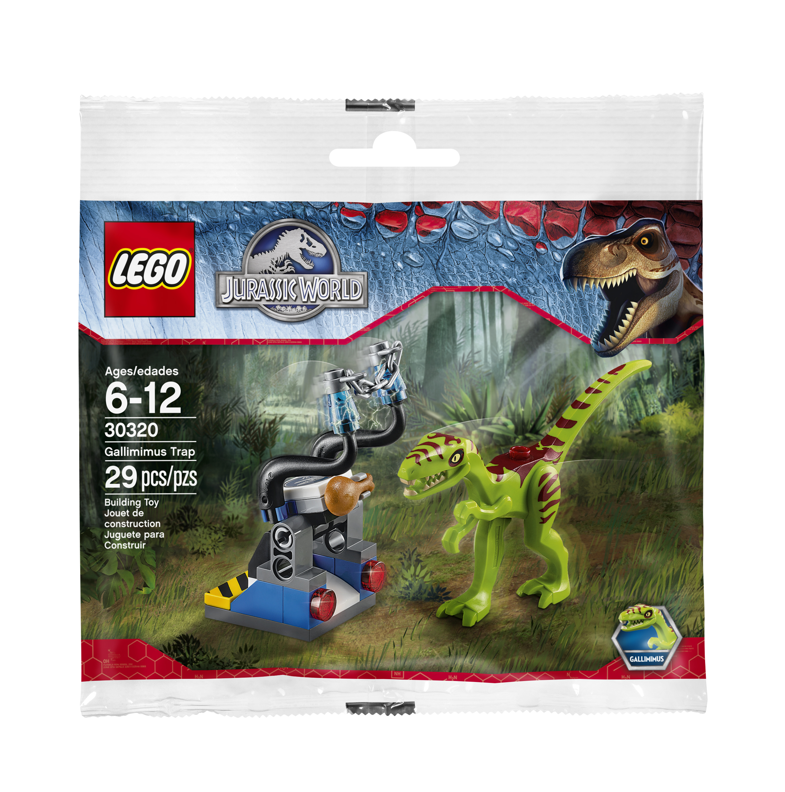 LJW_LEGO Dino Trap_Mini Set