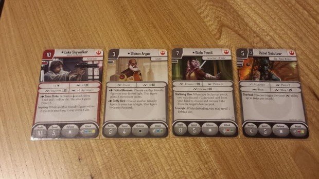 Deployment cards for skirmish mode