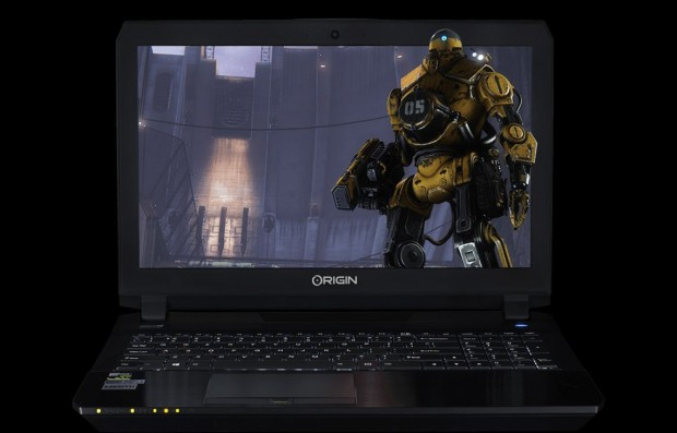 The Origin PC EON15-X desktop-replacement laptop