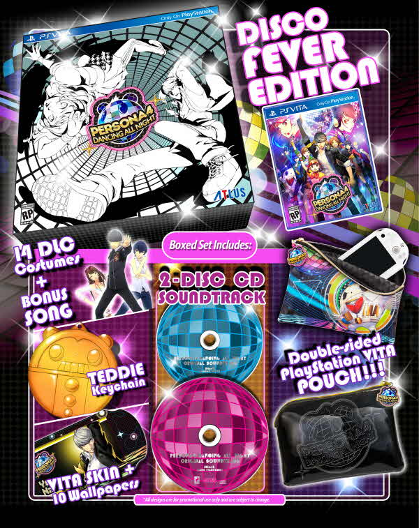 Atlus reveals Persona 4: Dancing All Night's collector's edition