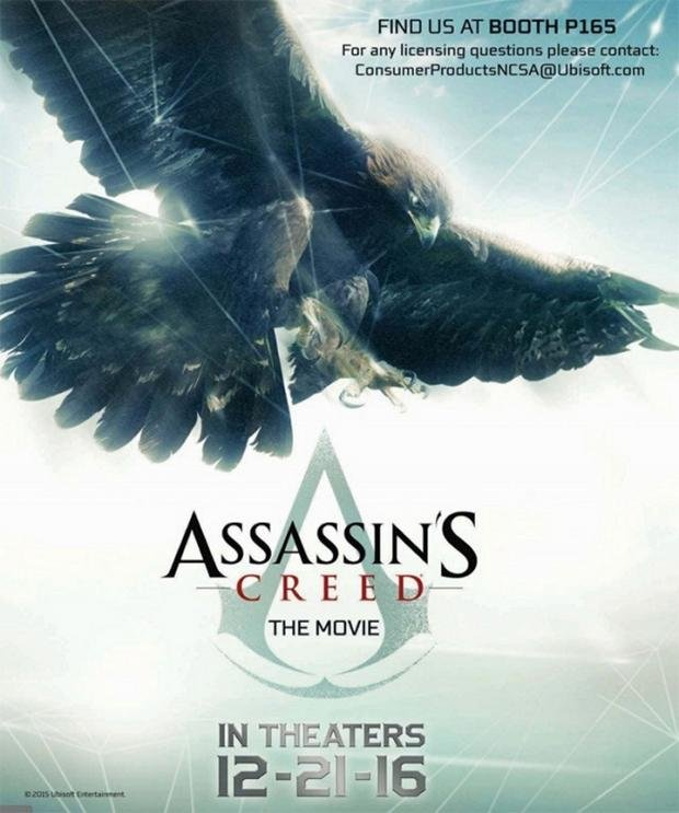 First Assassin's Creed movie poster references the Animus
