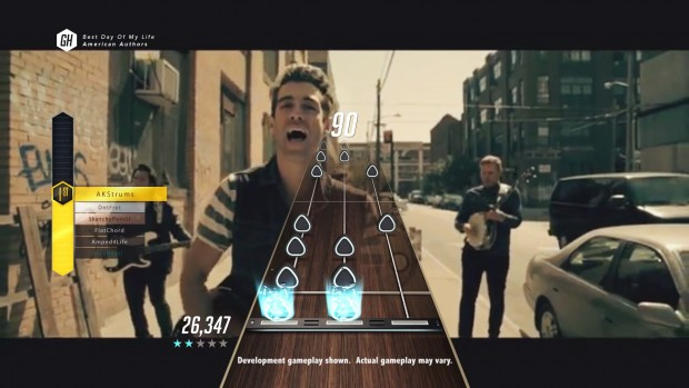 Jam along with your favorite bands on Guitar Hero TV