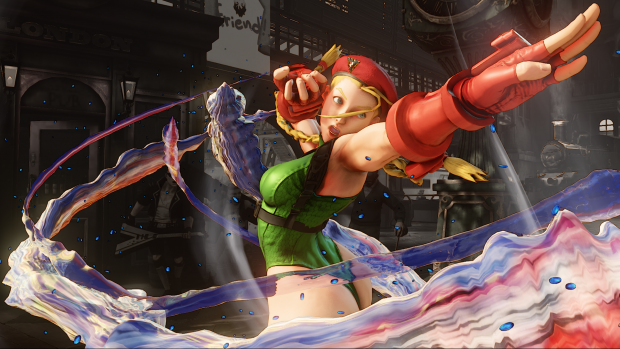 Cammy's V-Trigger enhances her abilities, making them lightning fast and damaging.