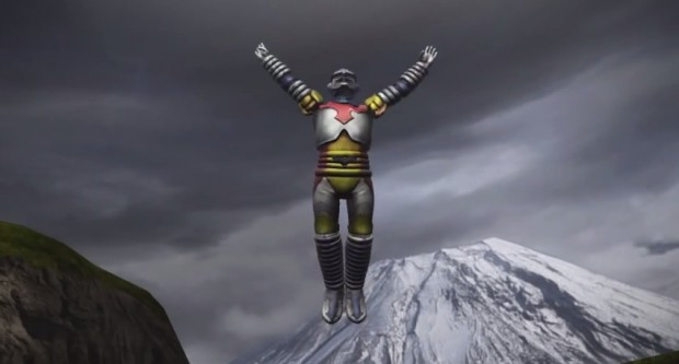 Yes, Jet Jaguar is in this game, and it's as fantastic as you'd expect.