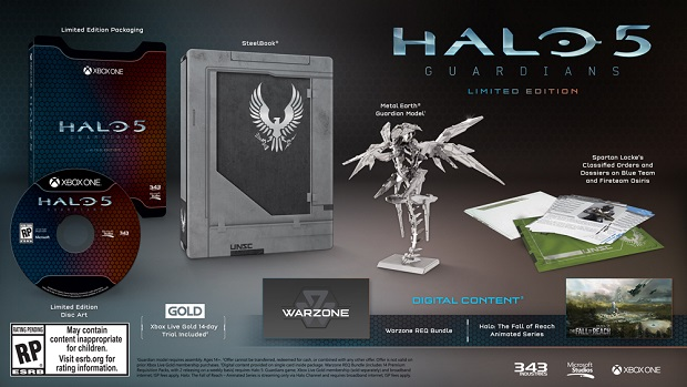Halo 5 is coming in two special editions