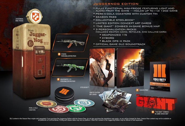 Black Ops III's special edition will help you keep your drinks cold