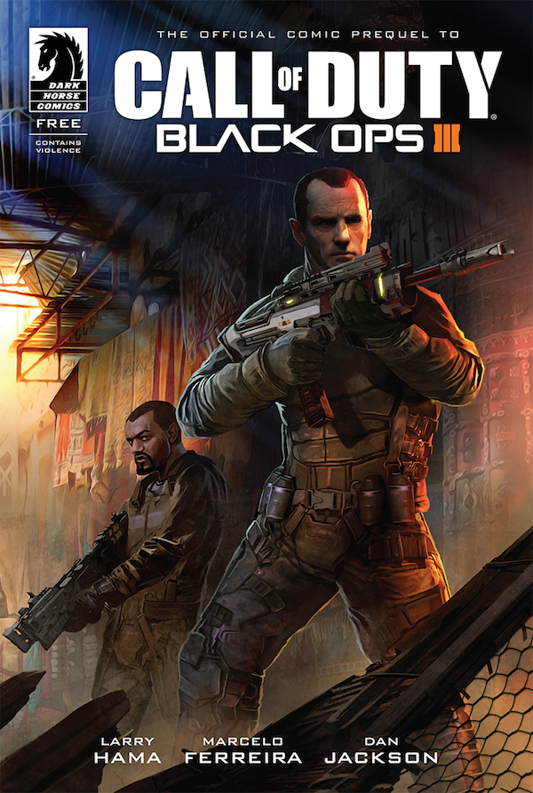 Dark Horse is publishing a Black Ops III prequel comic series
