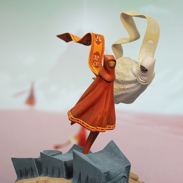 Sony reveals Journey statue alongside game's PS4 launch