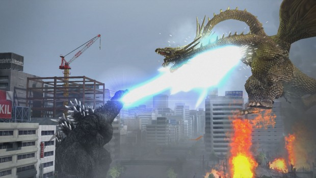 Different modes let you both fight as and against a great roster of kaiju.