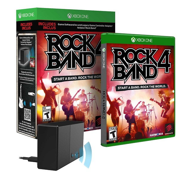 Rock Band 4 will cost more on Xbox One as a standalone disc