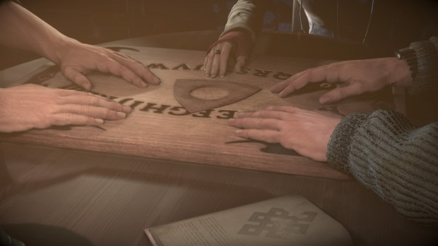 Because using an Ouija board in a secluded mountain lodge is always a sound decision.