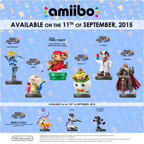 Nintendo details September amiibo rollout plans