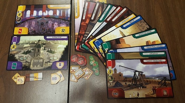 7 Wonders Babel Great Projects Components Review