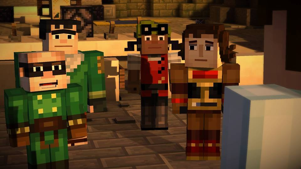 "Broken Pieces -- Minecraft: Story Mode ""Assembly Required"" review"