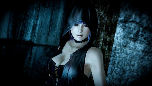 Ayane from DOA is in the game, in an odd but interesting Easter egg mission.