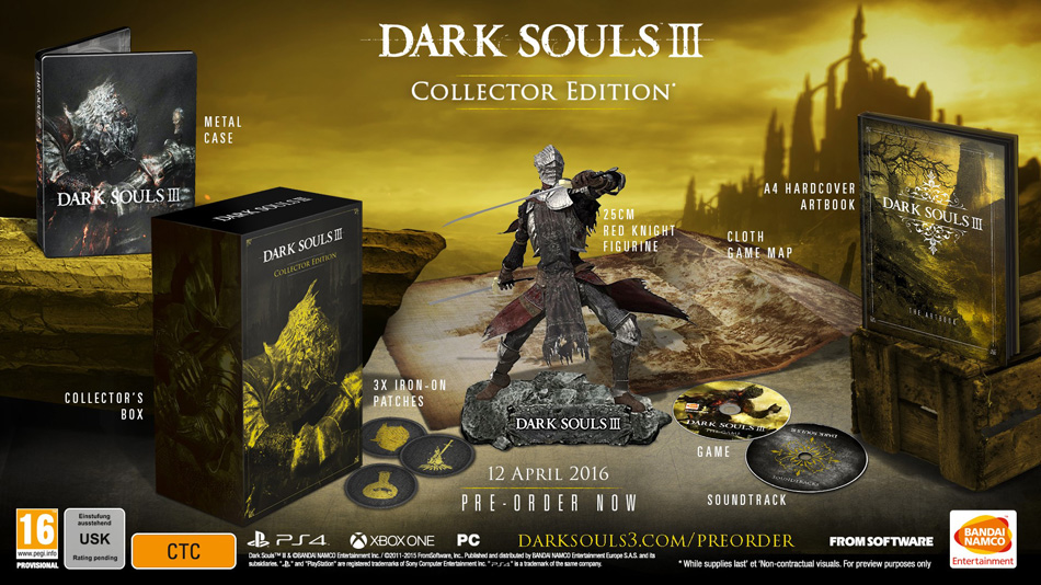 Dark Souls III's two special editions have been leaked