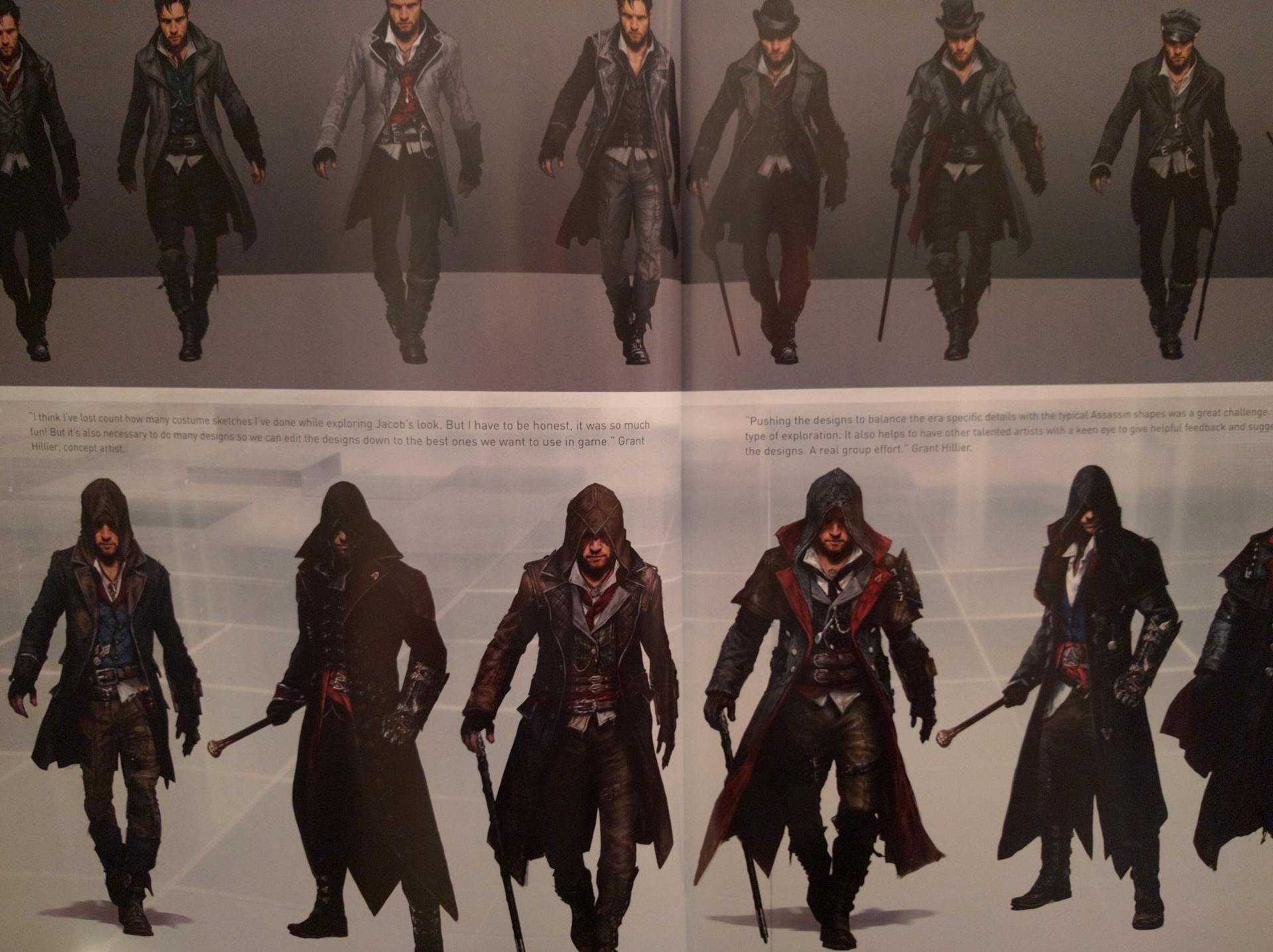 A Look At Some Of The Outfits That Weren T In Ac Syndicate