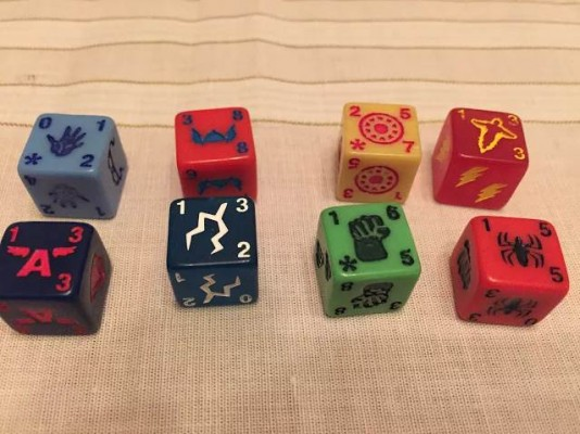 If you like looking at colorful custom dice, you've come to the right place!