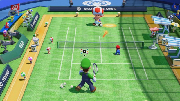 Levling up your amiibo in doubles matches becomes addictive.