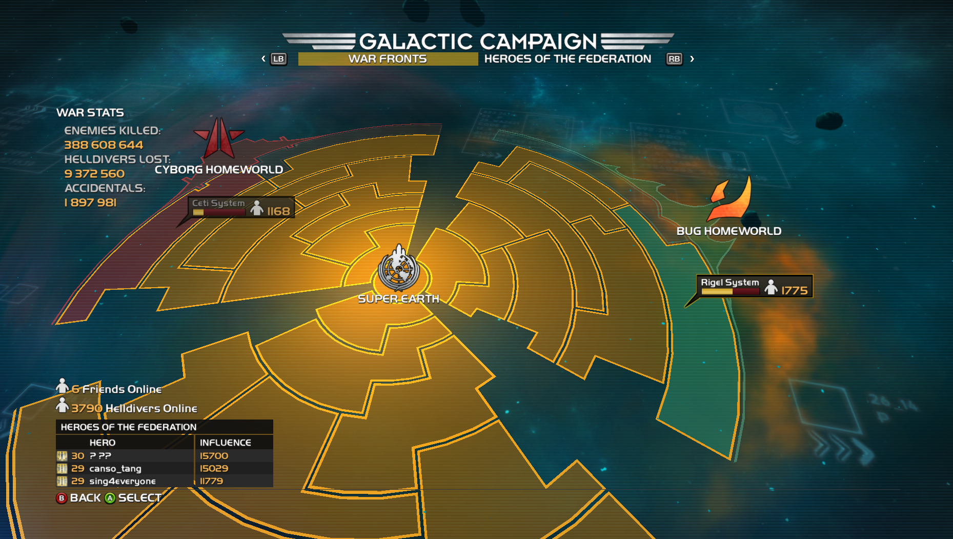 HD Galactic Campaign
