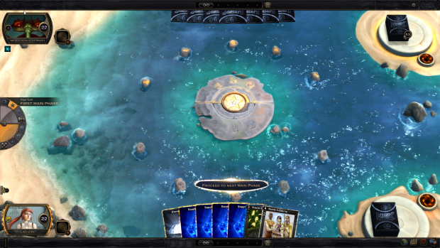 The battle boards breathe life into the game by adding moving, three-dimensional details.