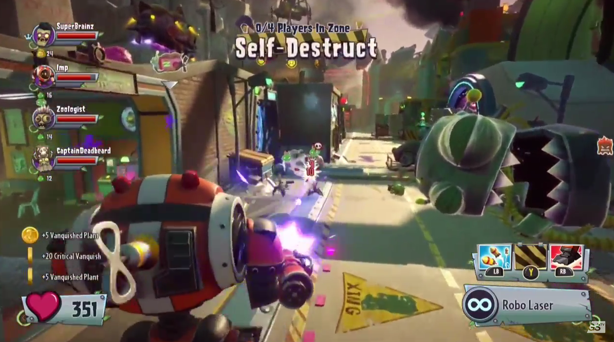 Plants Vs Zombies Garden Warfare 2 Preview Gaming Trend