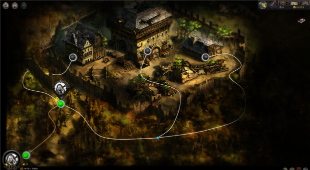 Players roam from location to location in the solo campaign, fighting a wide array of creatures that become progressively more difficult to conquer.