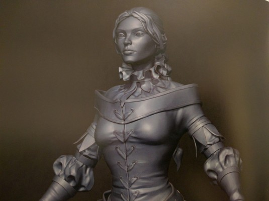 It's amazing how detailed the 3D renders are in The Art of Fable Legends.