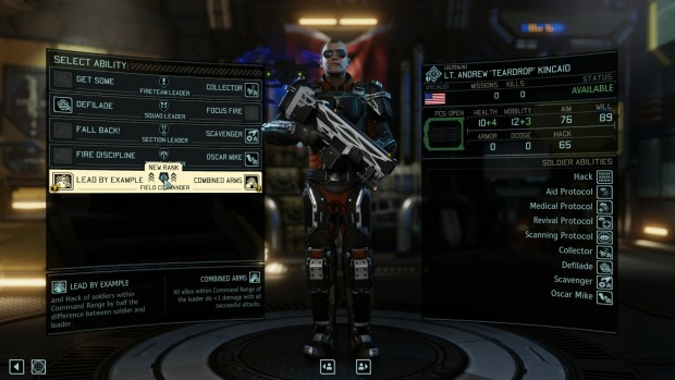 A modded leader class addon gives you a Field Commander.
