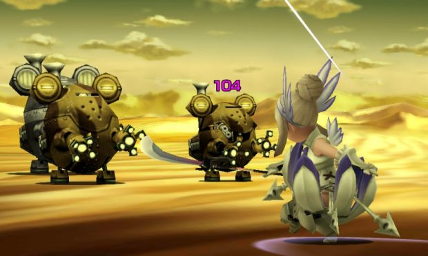 Combat has improved across the board since Bravely Default